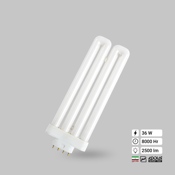 لامپ کم مصرف 36وات FML زمان نور