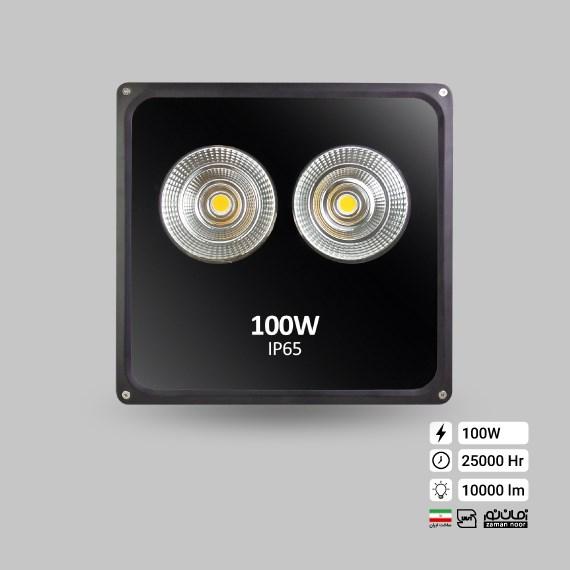 پرژکتور100وات COB زمان نور
