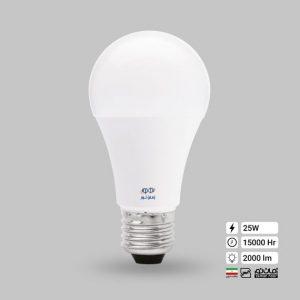 لامپ ال ای دی حبابی 25 وات