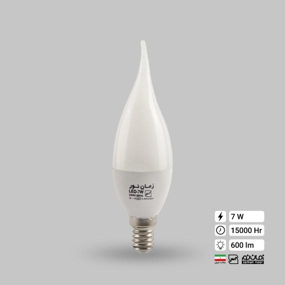 لامپ ال ای دی اشکی مات